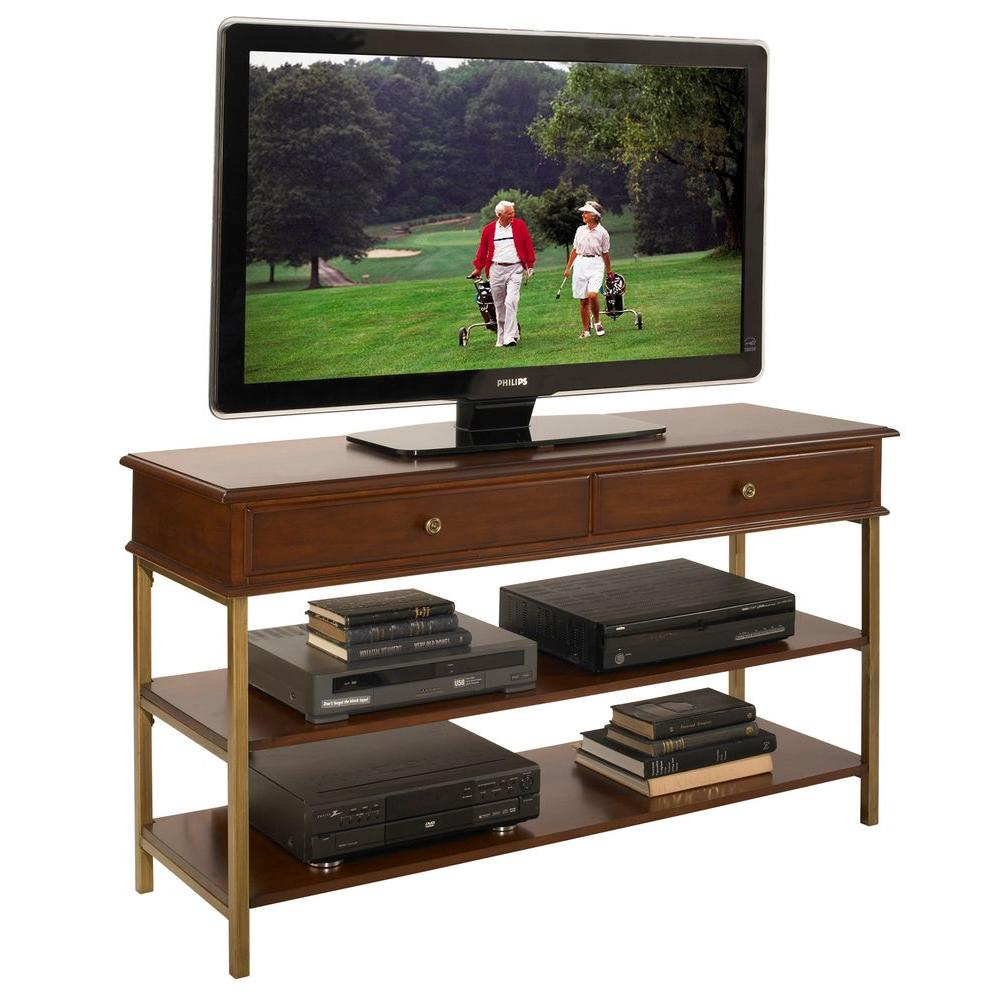 Home Styles St. Ives Cinnamon Cherry Media TV Stand
