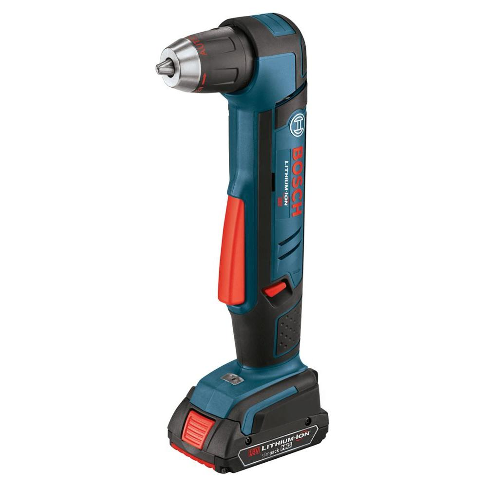 Bosch 18-Volt Lithium-Ion 1/2 in. Right Angle Drill Kit