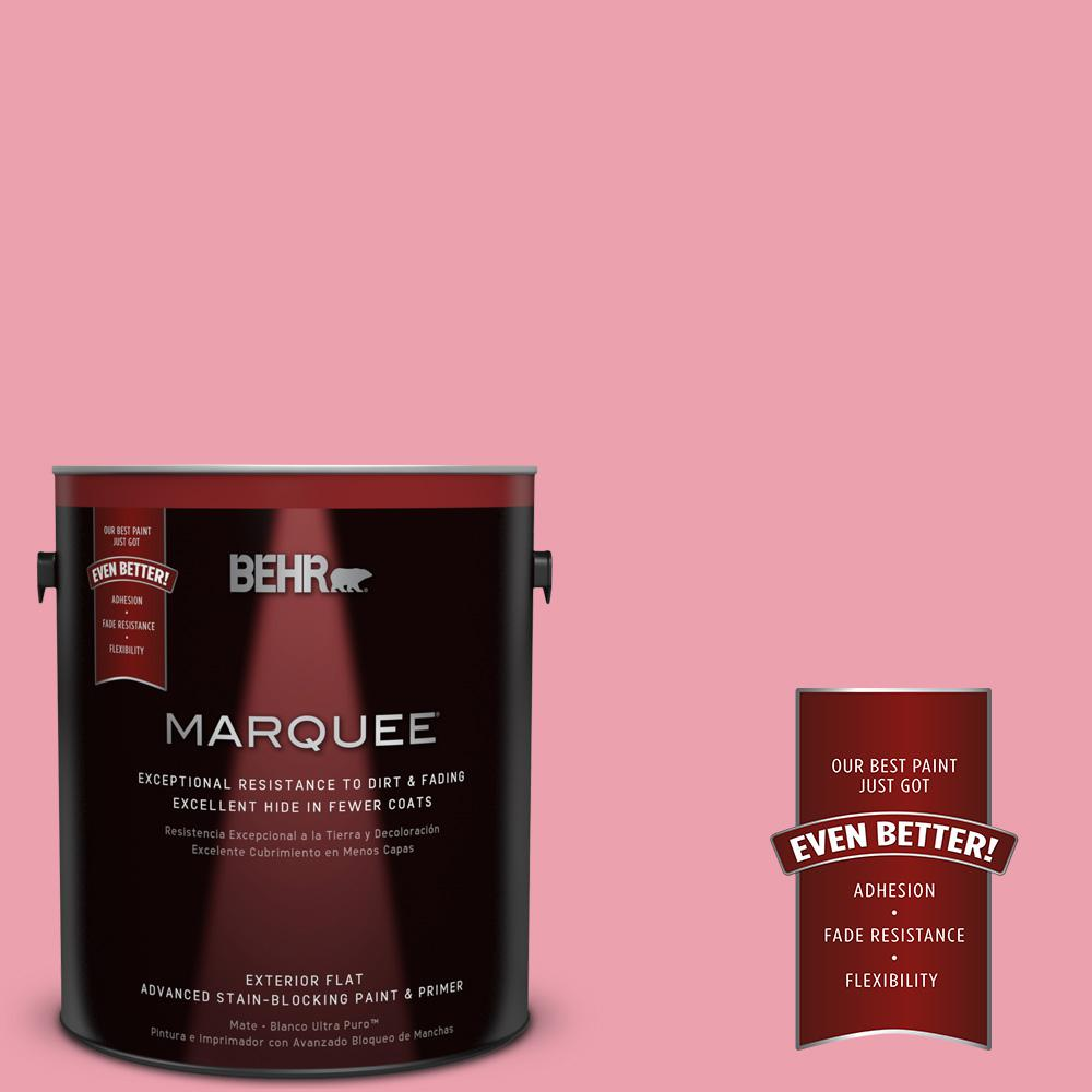 BEHR MARQUEE 1-gal. #P150-3 Pinque Flat Exterior Paint-445001 - The Home