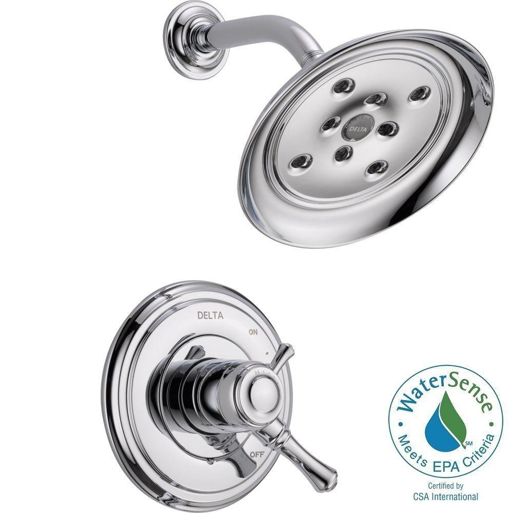Cassidy 1-Handle Shower Only Faucet Trim Kit in Chrome (Valve Not