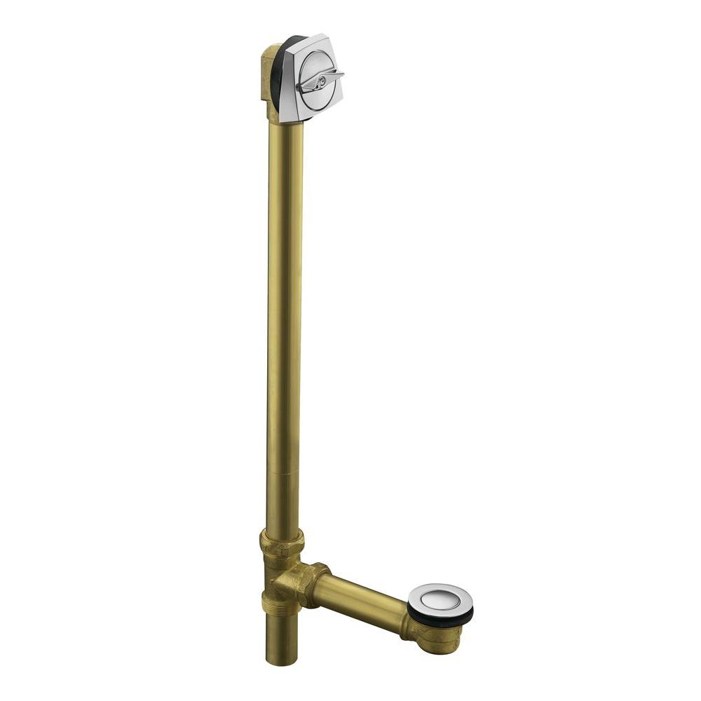 null Clearflo 1-1/2 in. Adjustable Brass Pop-up Drain in Polished Chrome