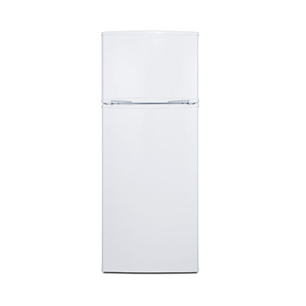 Summit Appliance 7.06 cu. ft. Top Freezer Refrigerator in White, Counter Depth-DISCONTINUED