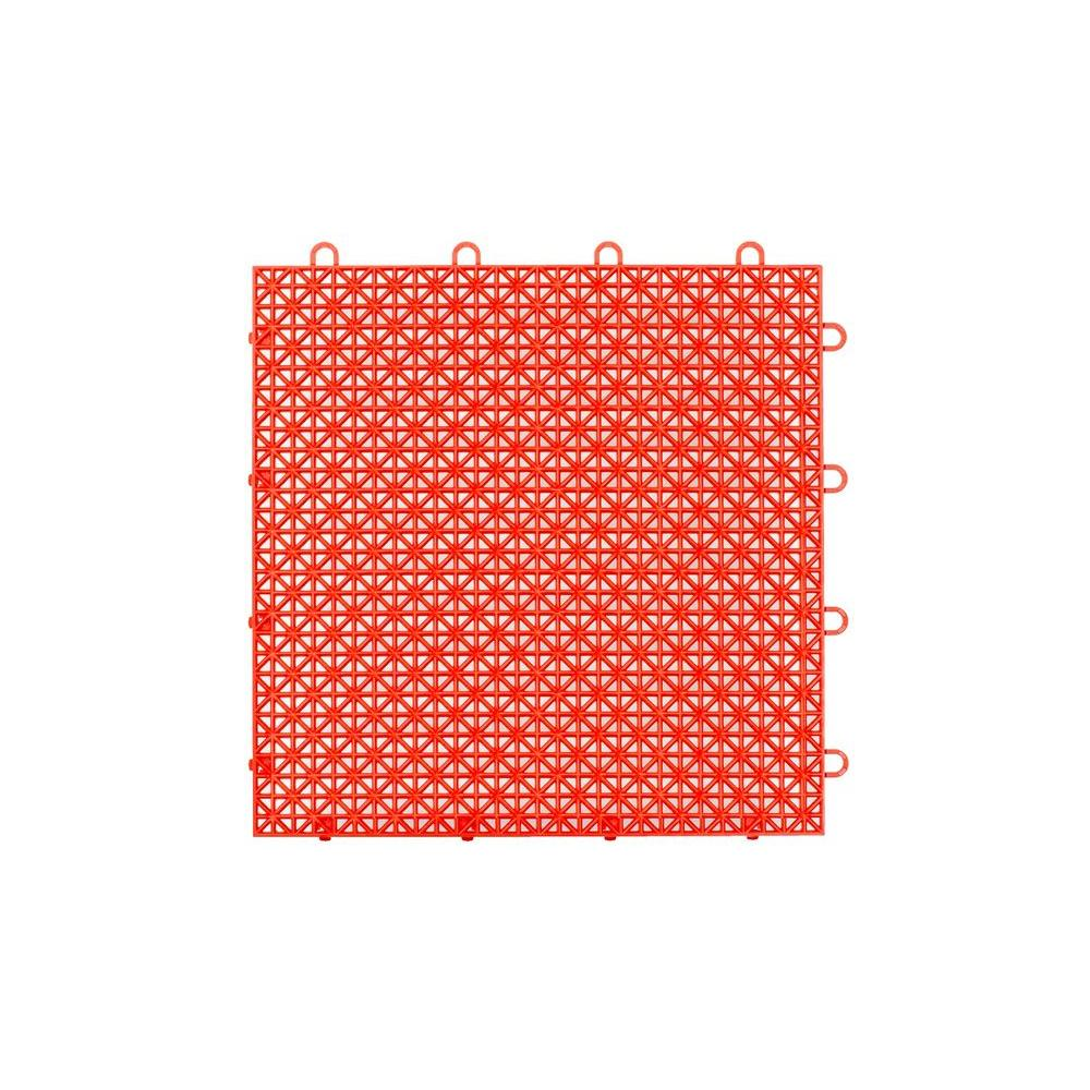 Master Mark Armadillo Tile Flaming Red 12 in. x 12 in.