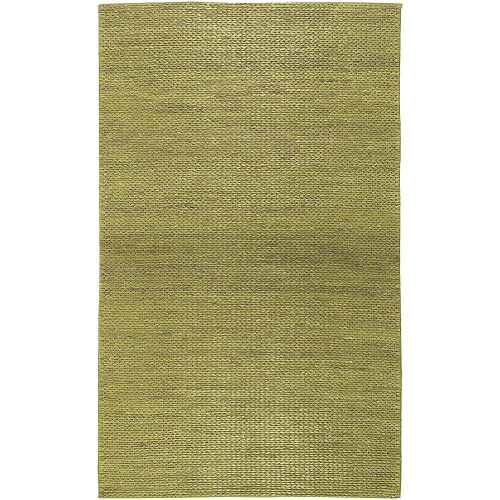 Artistic Weavers Levan Lime 3 ft. 6 in. x 5 ft. 6 in. Area Rug