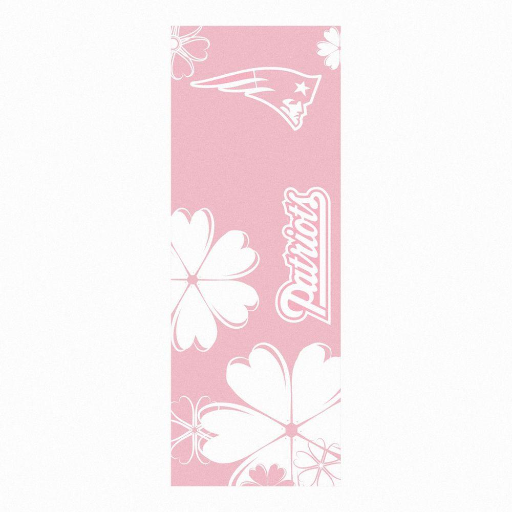 FANMATS New England Patriots 24 in. x 67.5 in. Yoga Mat-DISCONTINUED