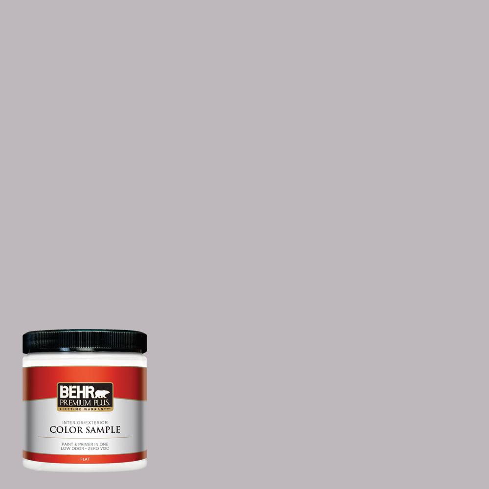 8 oz. #PPU16-10 French Lilac Flat Interior/Exterior Paint Sample