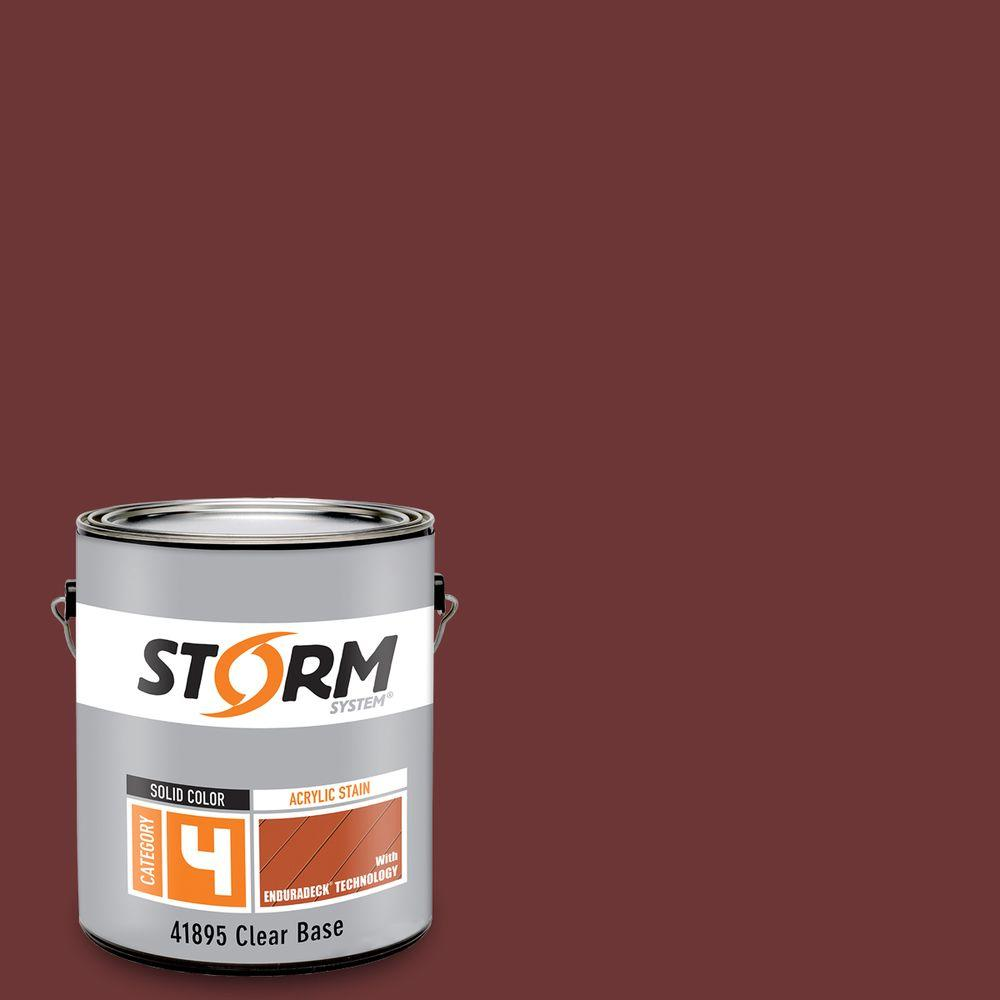 Storm System Category 4 1 Gal Redwood Exterior Wood
