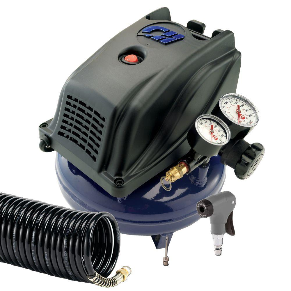Campbell Hausfeld 1 Gal. Air Compressor with Inflation Kit