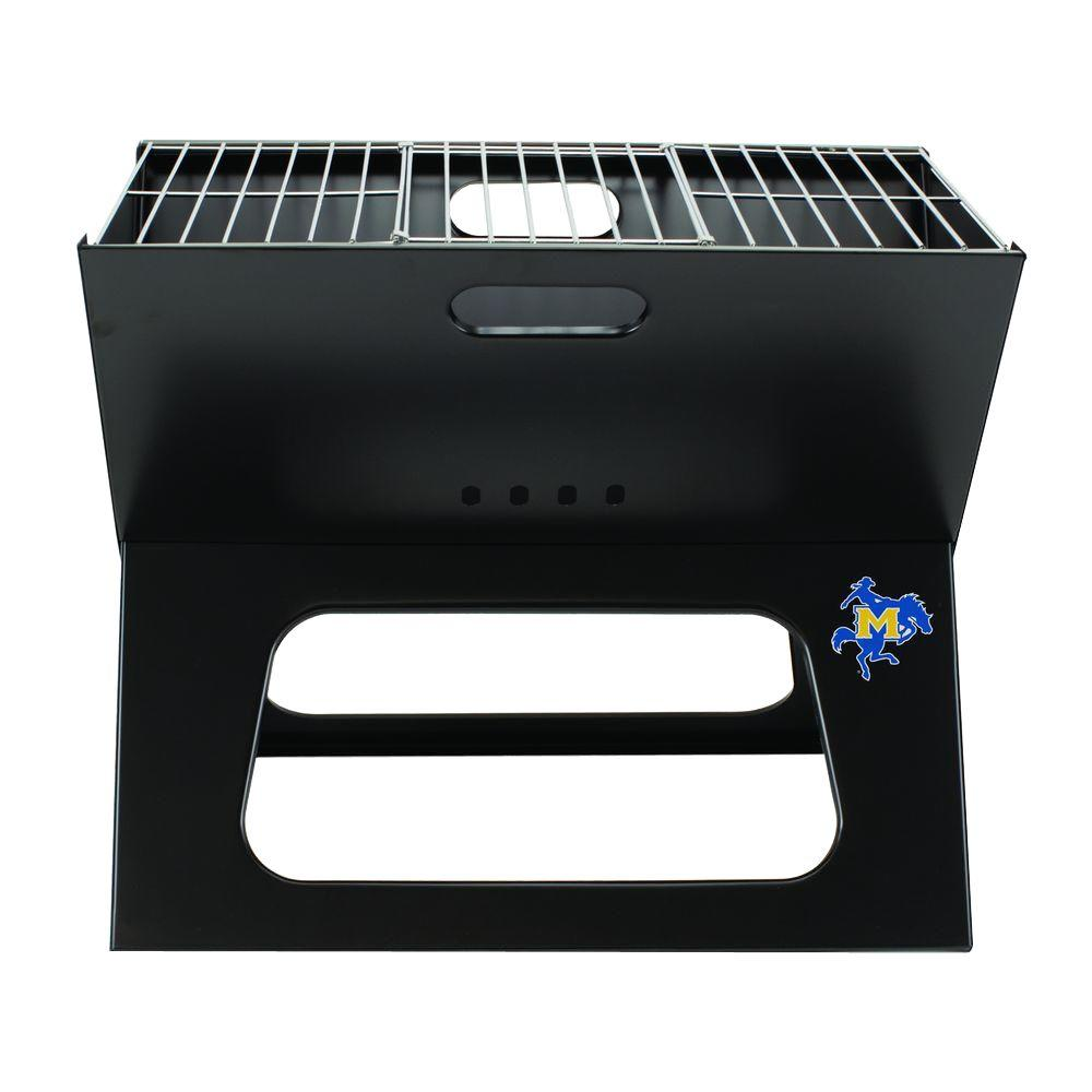 Picnic Time X-Grill McNeese State Folding Portable Charcoal Grill