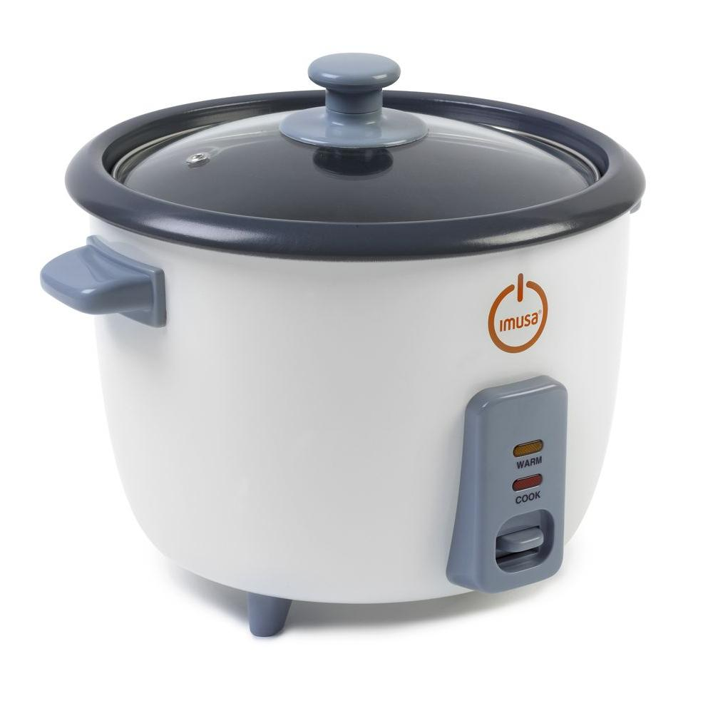 IMUSA 3-Cup Electric Rice Cooker-DISCONTINUED