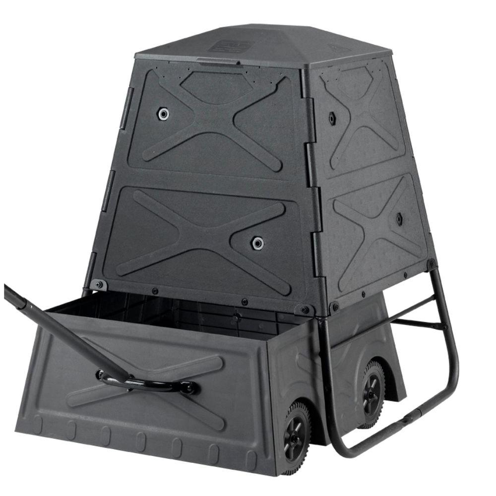 null CompoMix Composter with Compost Cart