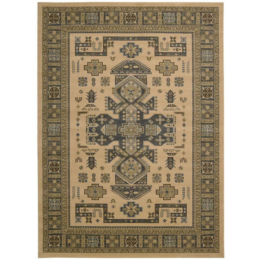 Maymana Camel 7 ft. 10 in. x 10 ft. 10 in. Area Rug