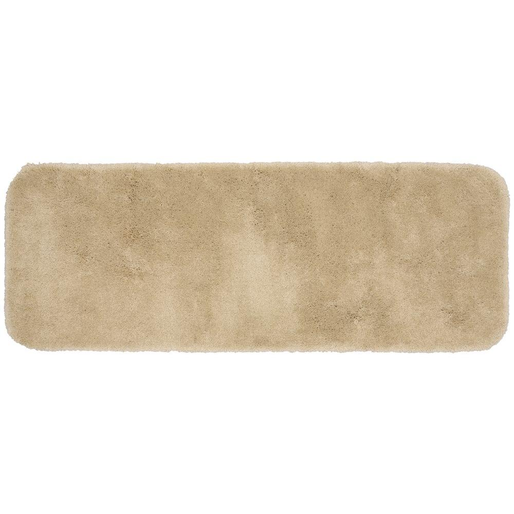 Garland Rug Finest Luxury Linen 22 in. x 60 in. Washable Bathroom Accent Rug