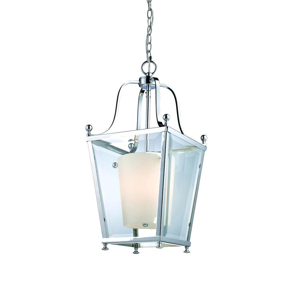 Filament Design Lawrence Collection 3-Light Chrome Pendant-CLI-JB178-3 - The