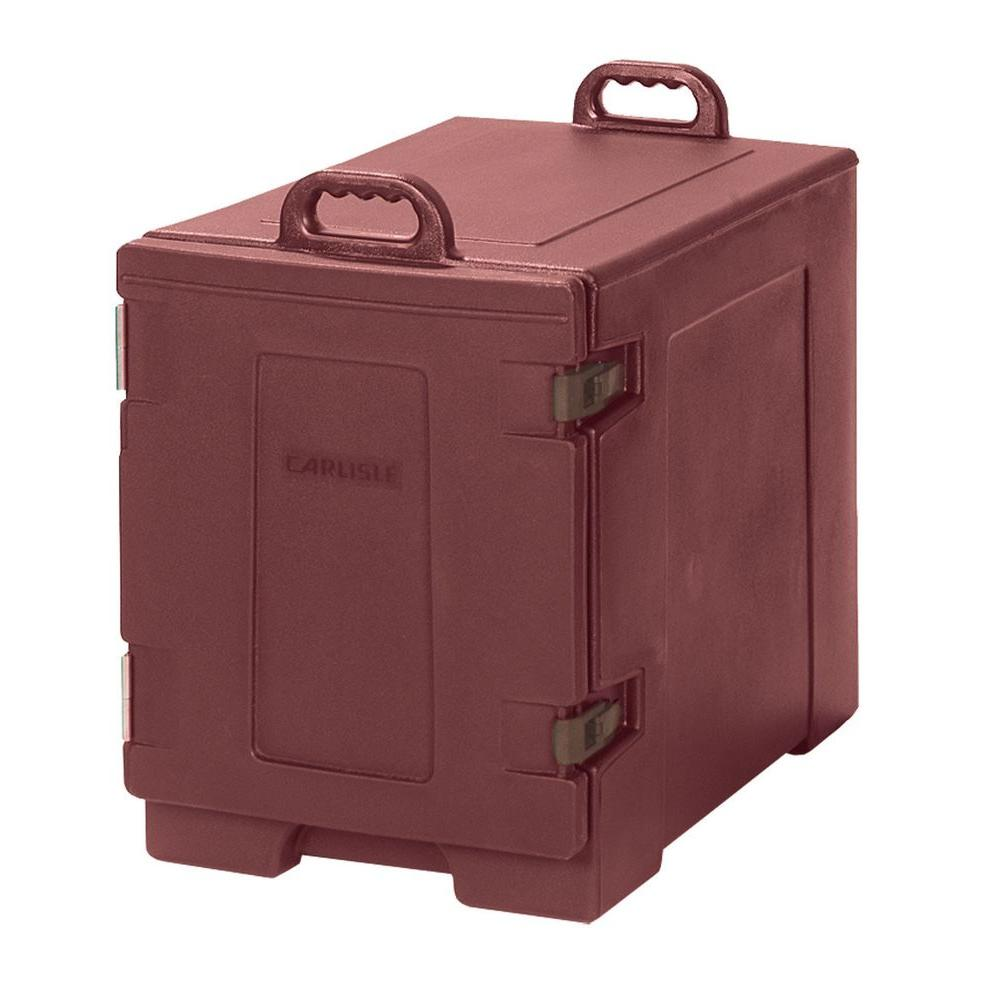 Carlisle Cateraide End Loading Insulated Pan Carrier in Brick Red-PC300N95 -