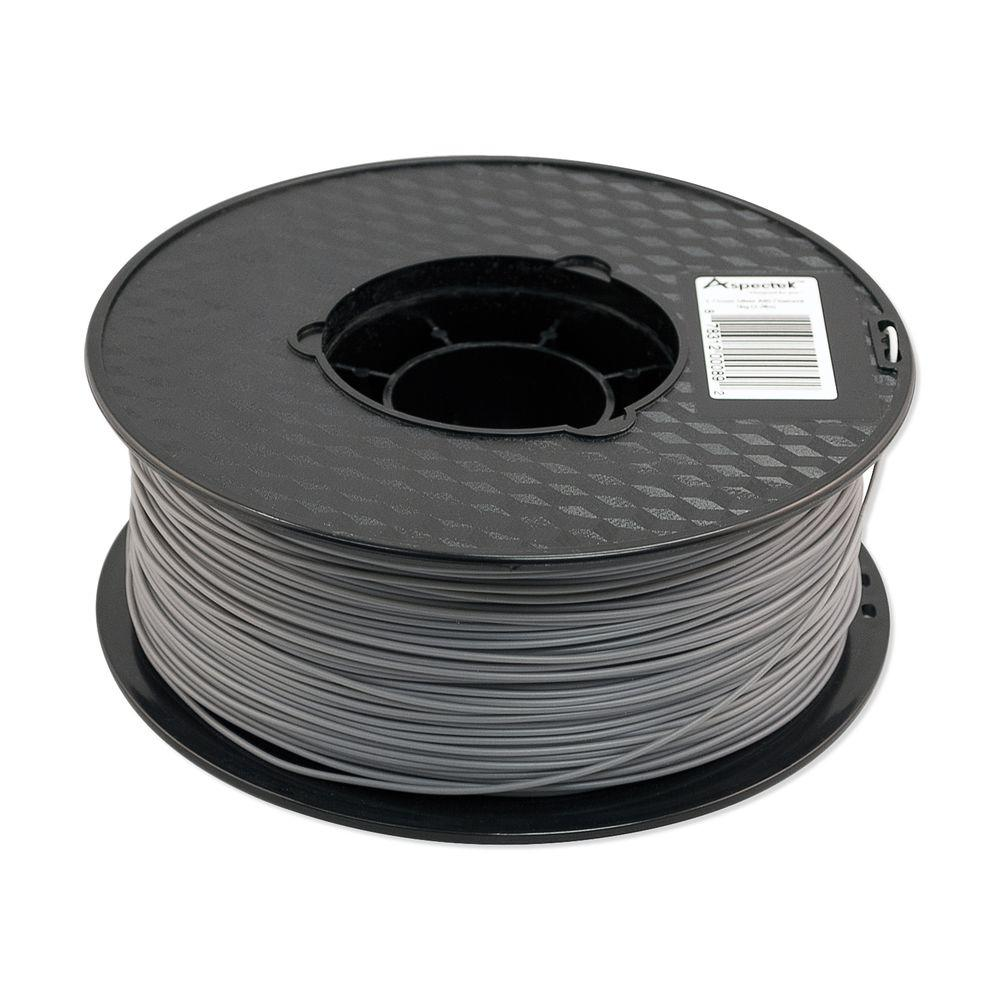 Aspectek 3D Printer Premium Silver ABS Filament-HZ125111 - The Home Depot