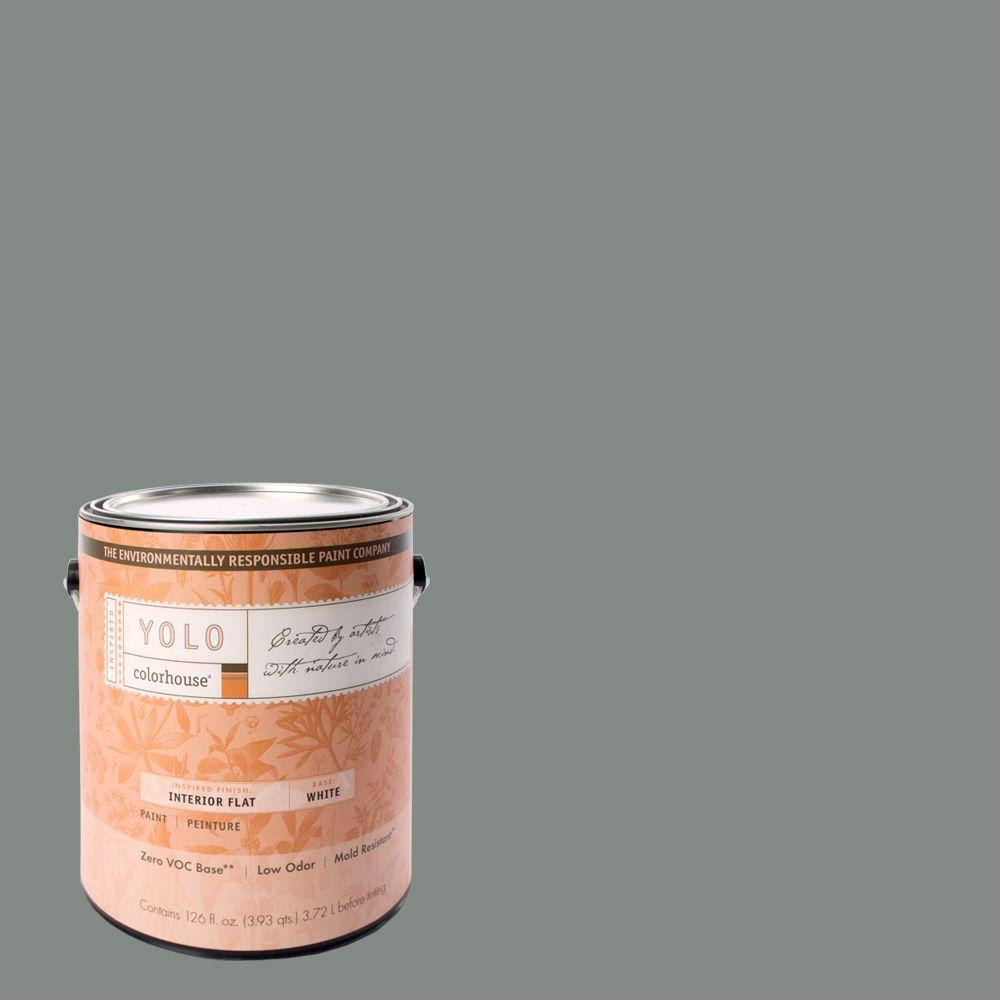 YOLO Colorhouse 1-gal. Stone .07 Flat Interior Paint-DISCONTINUED
