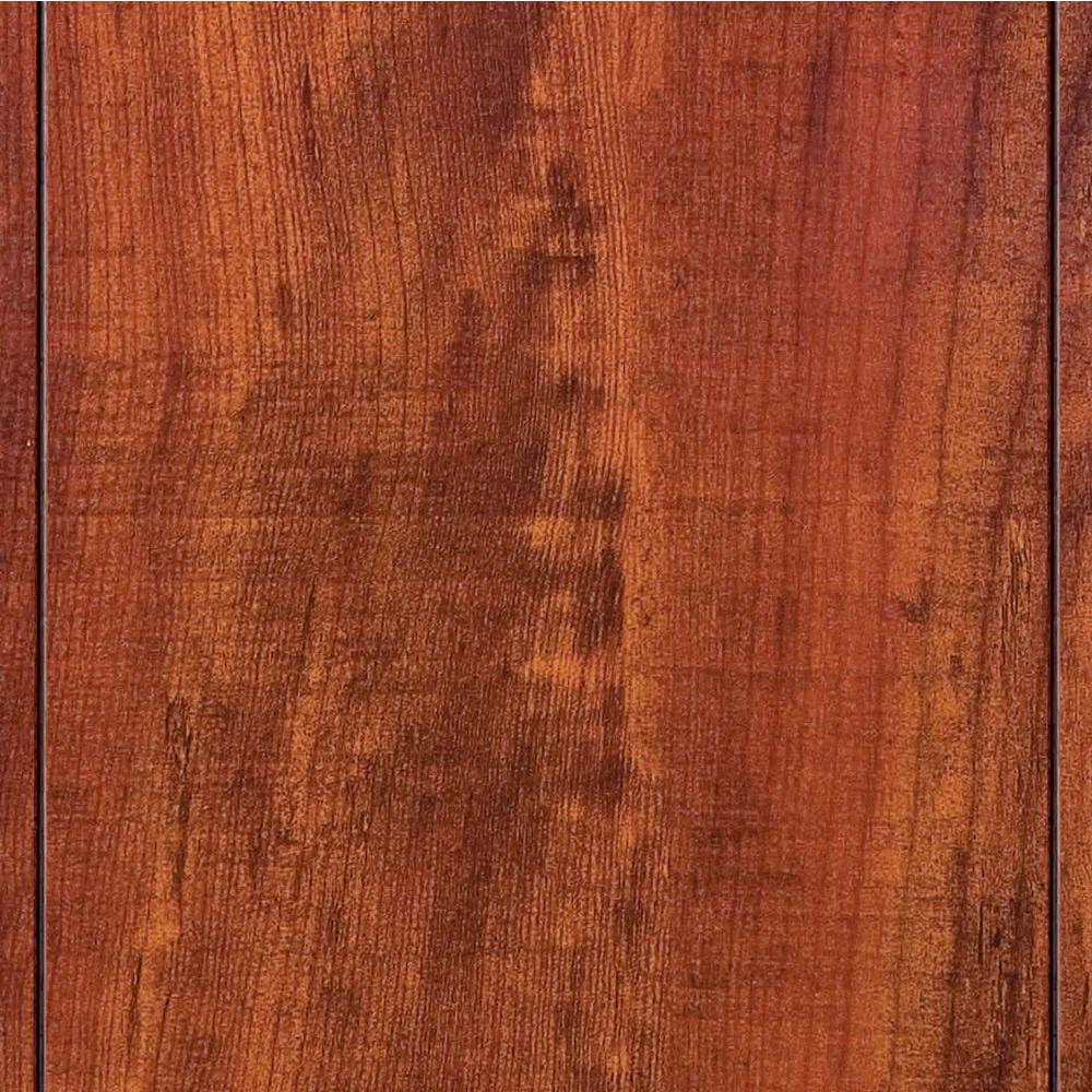 Hampton Bay Perry Hickory 8 mm Thick x 5 in. Wide x 47-3/4 in. Length Laminate Flooring (318.24 sq. ft. / pallet)