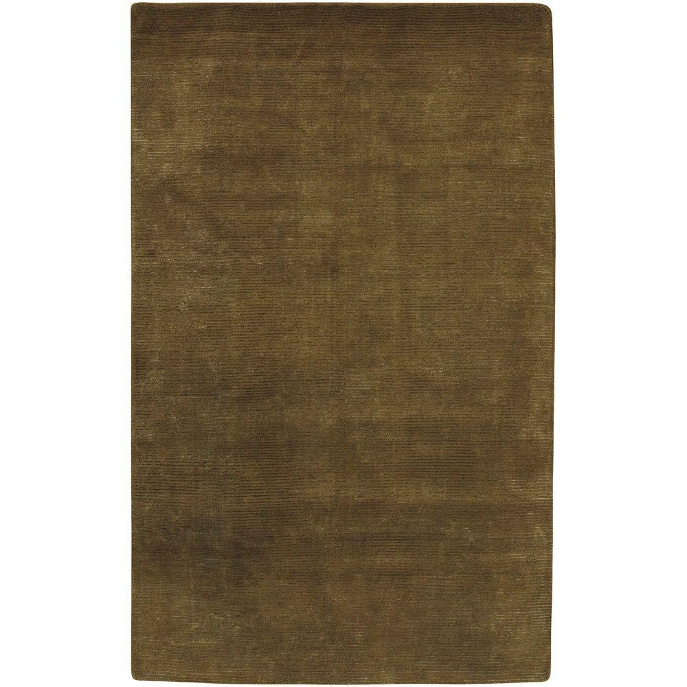Artistic Weavers Rebordosa Olive Green 5 ft. x 8 ft. Area Rug