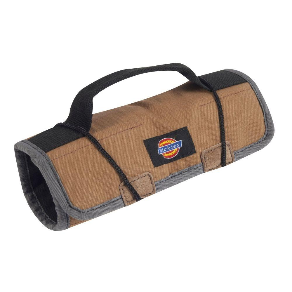 Dickies 16-Compartment Small Tool / Wrench Roll, Tan