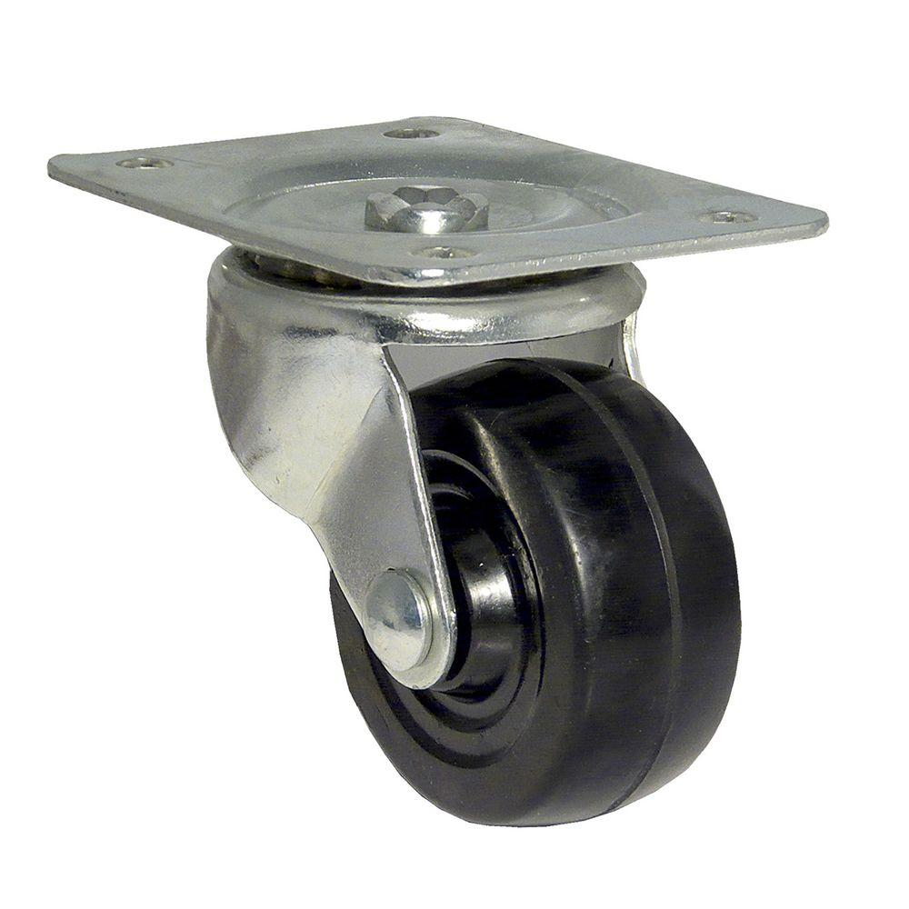 Richelieu Hardware 2-1/2 in. General-Duty Rubber Swivel Caster-F25083 - The Home