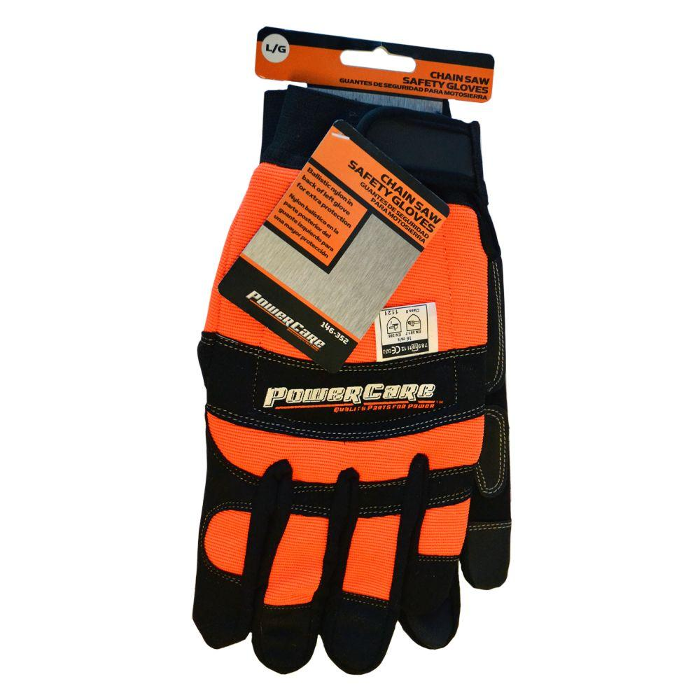 Power Care Chain Saw Safety Gloves-GV001PC2 - The Home Depot