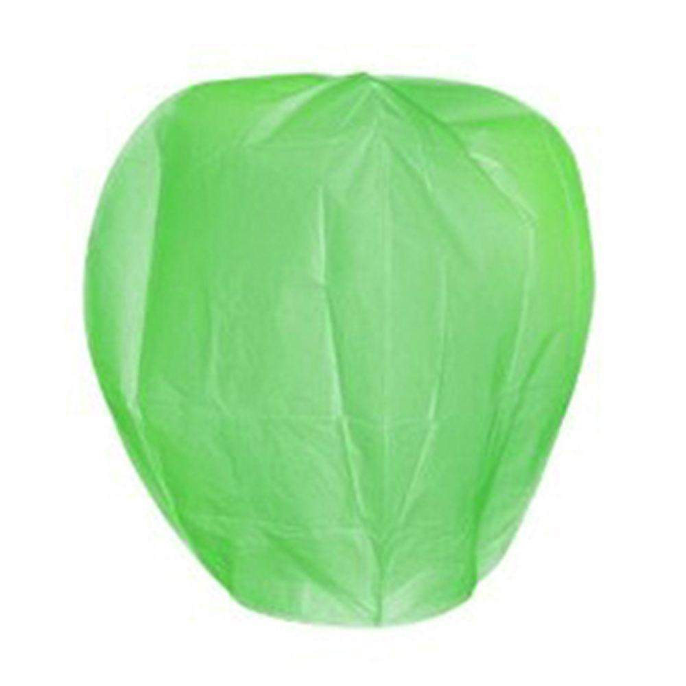 Green Sky Lanterns (Set of 4)
