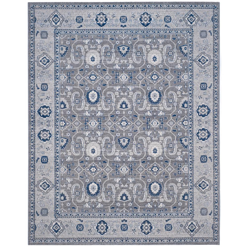 Safavieh Bella Gray Silver 9 Ft X 12 Ft Area Rug Bel446a