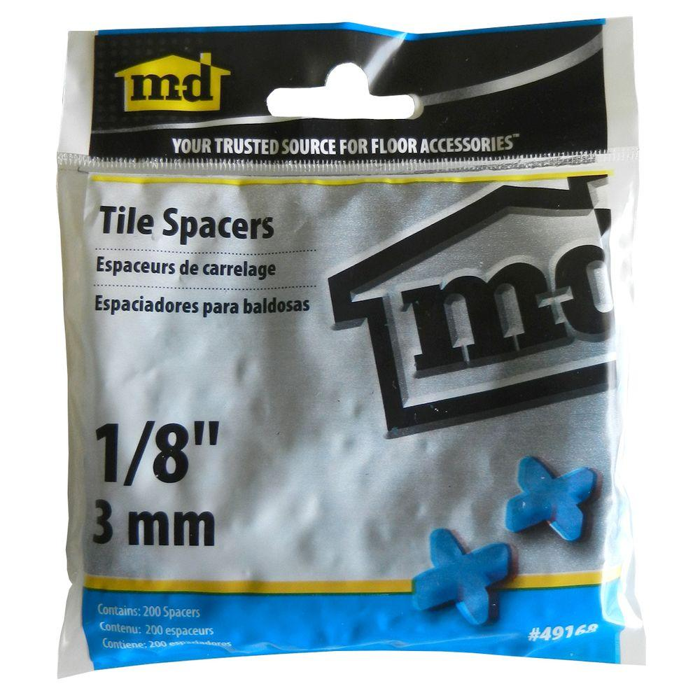 1/8 in. Tile Spacers (200 Pieces / Bag)