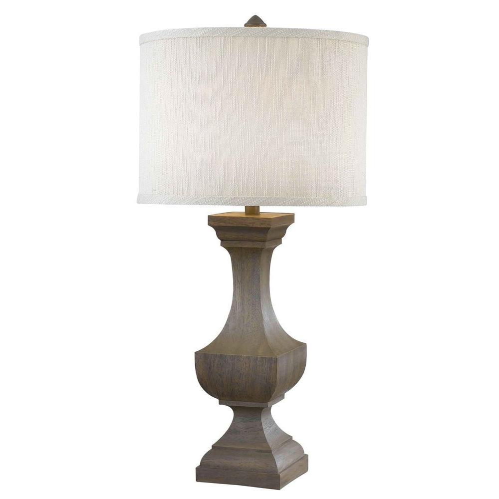 Kenroy Home Brookfield 31 in. Driftwood Table Lamp