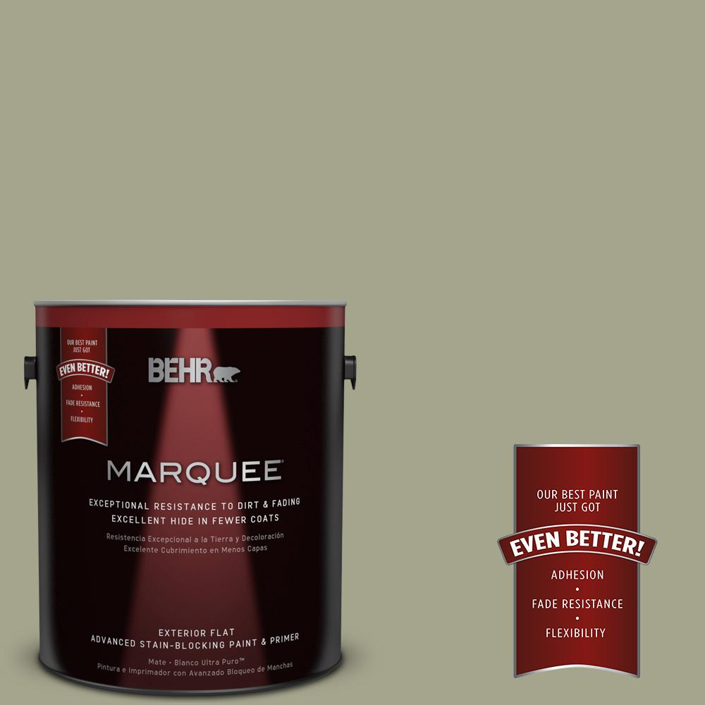 BEHR MARQUEE 1-gal. #400F-5 Promenade Flat Exterior Paint