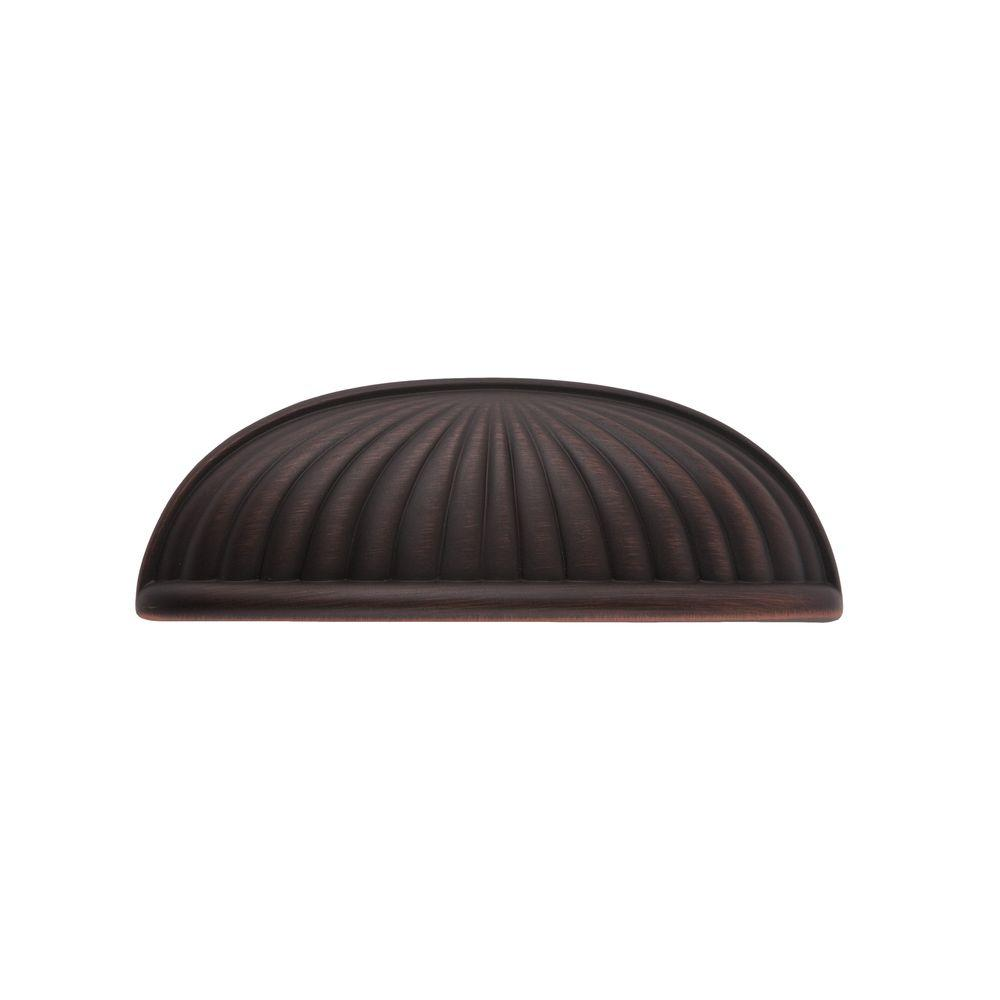 Sumner Street Home Hardware Belmont 3 in. Satin Copper Cup Pull-RL021095