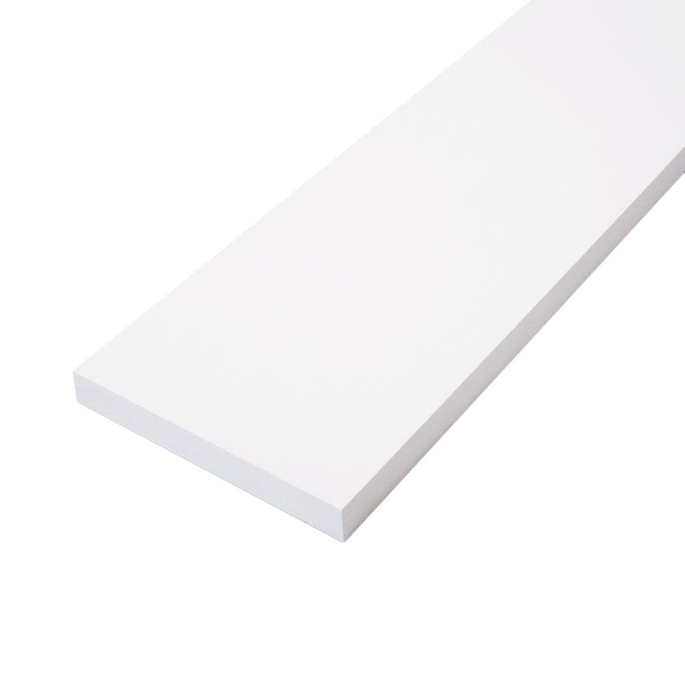 null 1 in. x 5 in. x 8 ft. Primed Finger-Joint Board