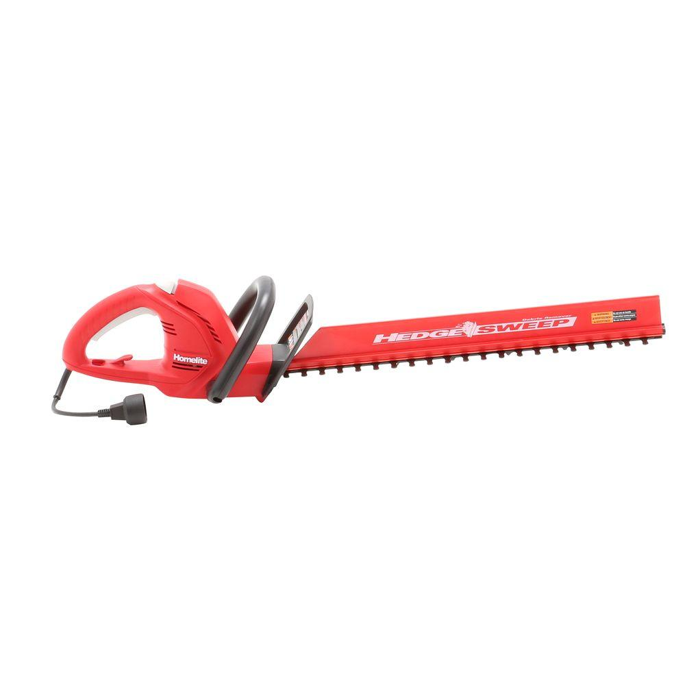 Homelite 22 in. 3.7 Amp Electric Hedge Trimmer