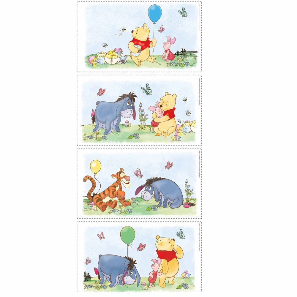 RoomMates 5 in. x 11.5 in. Winnie the Pooh Poster Peel