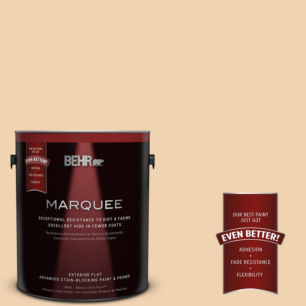 1-gal. #M280-3 Champagne Wishes Flat Exterior Paint