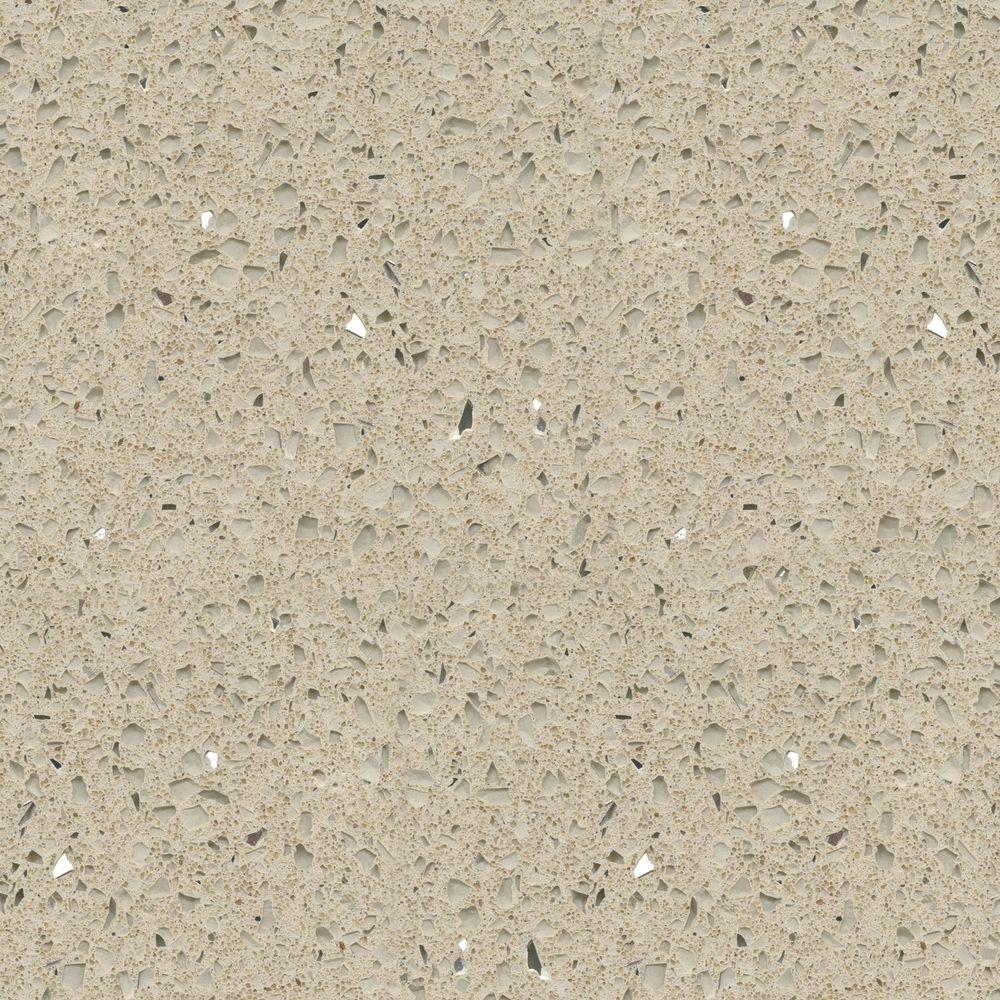 Silestone 2 in x 4 in quartz countertop sample in for Stellar night quartz price