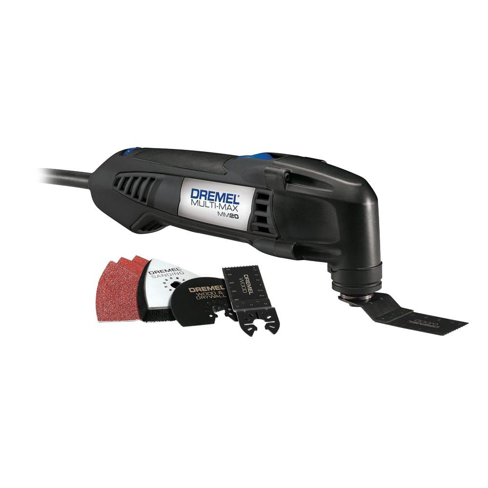 Dremel Multi-Max 2.3 Amp Variable Speed Corded Oscillating Multi-Tool Kit with 6 Accessories