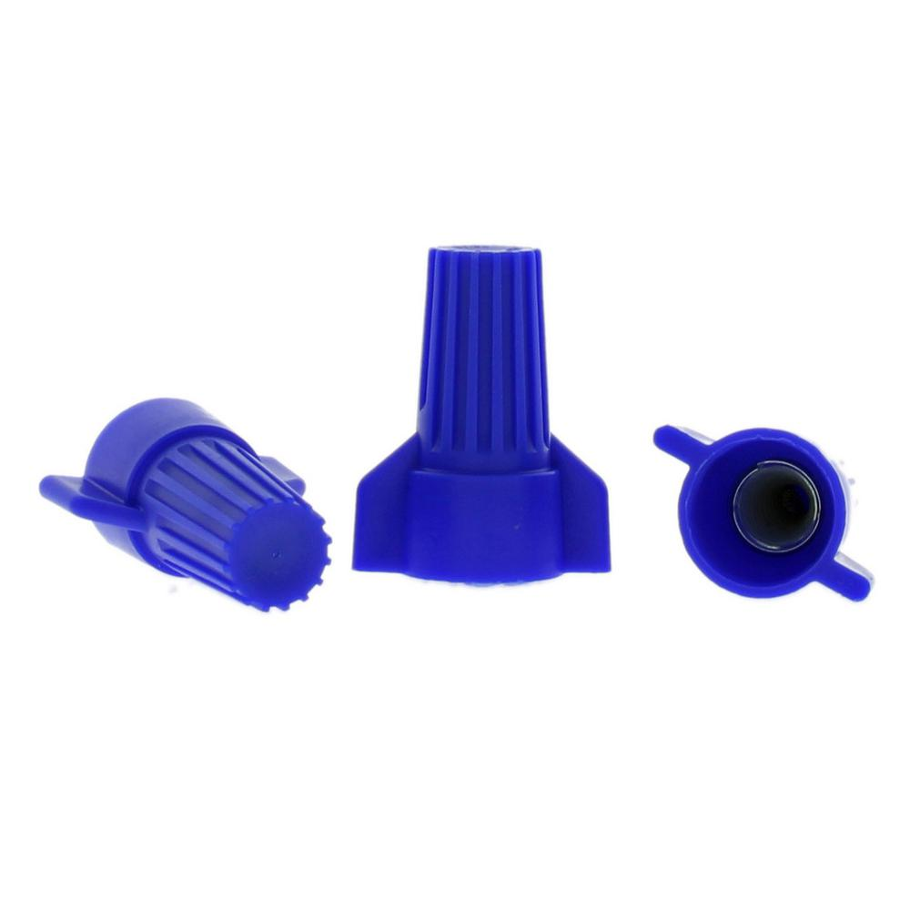 Winged Wire Connectors, Blue (4-Pack)