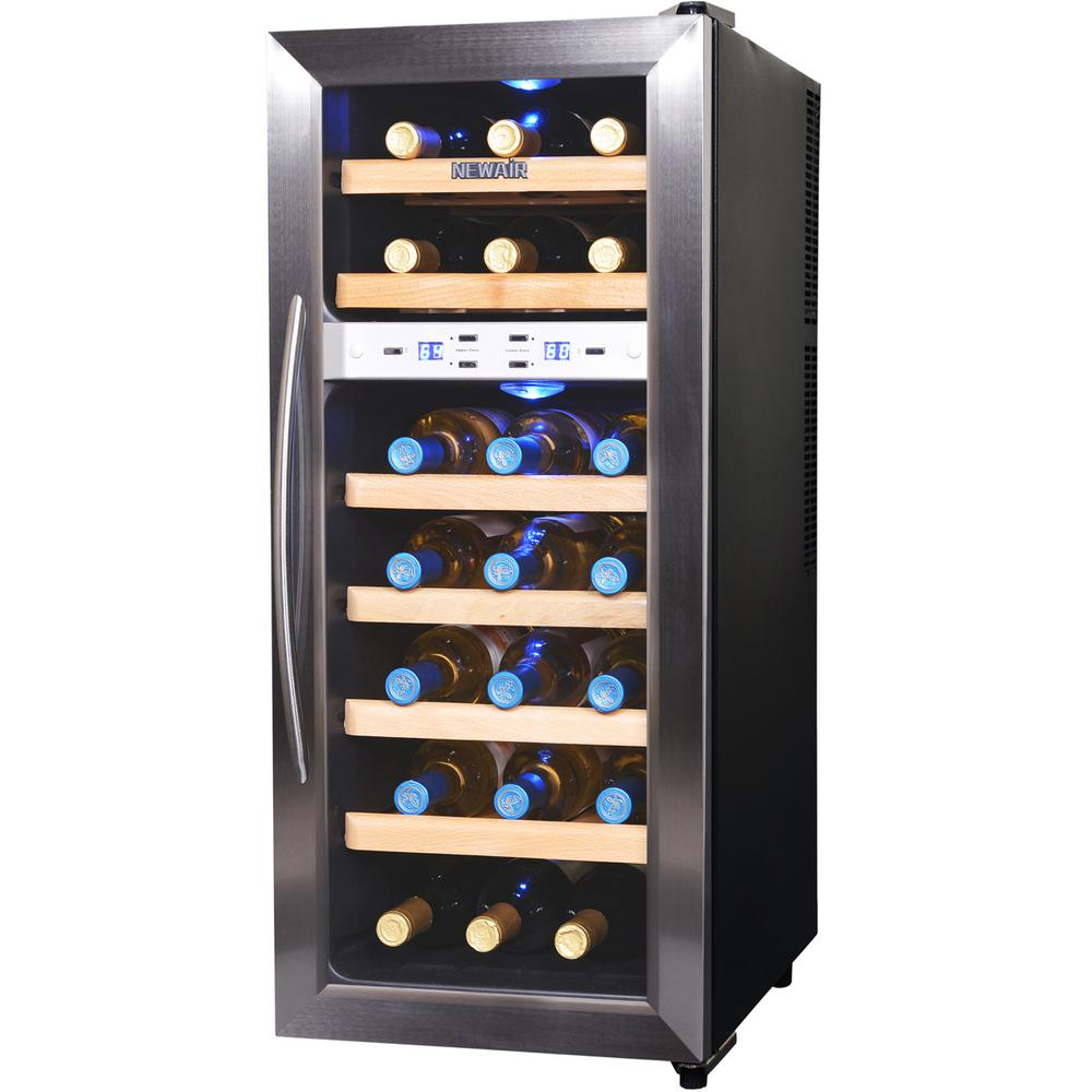 Wine Enthusiast Silent 6 Bottle Touchscreen Wine Cooler