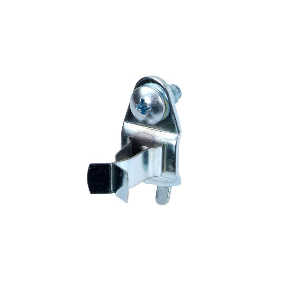 7/8 In. Projection Annealed Chromate Dipped Steel Ext Spg Clips (10