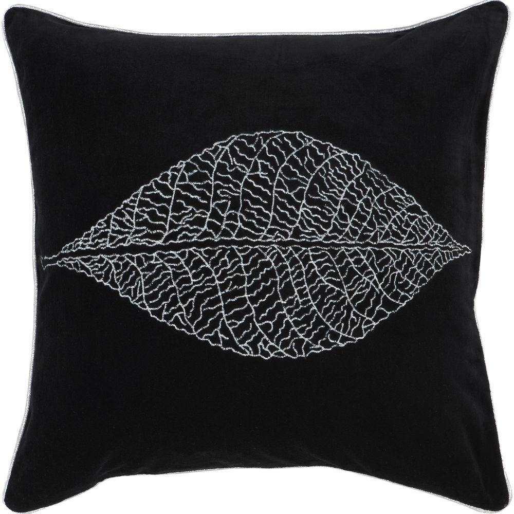 Artistic Weavers LeafB 22 in. x 22 in. Decorative Pillow-DISCONTINUED