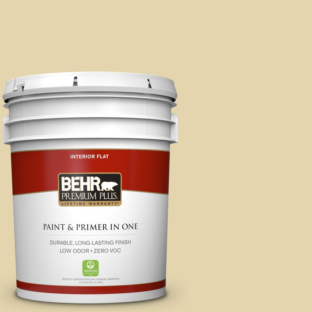 5-gal. #M310-3 Champagne Cocktail Flat Interior Paint