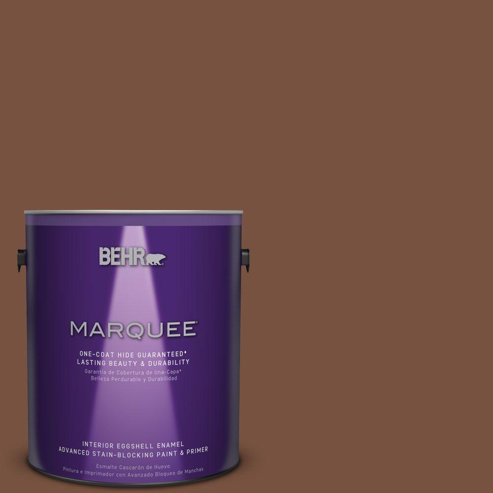 BEHR MARQUEE 1 gal. #S200-7 Earth Fired Red One-Coat Hide Eggshell