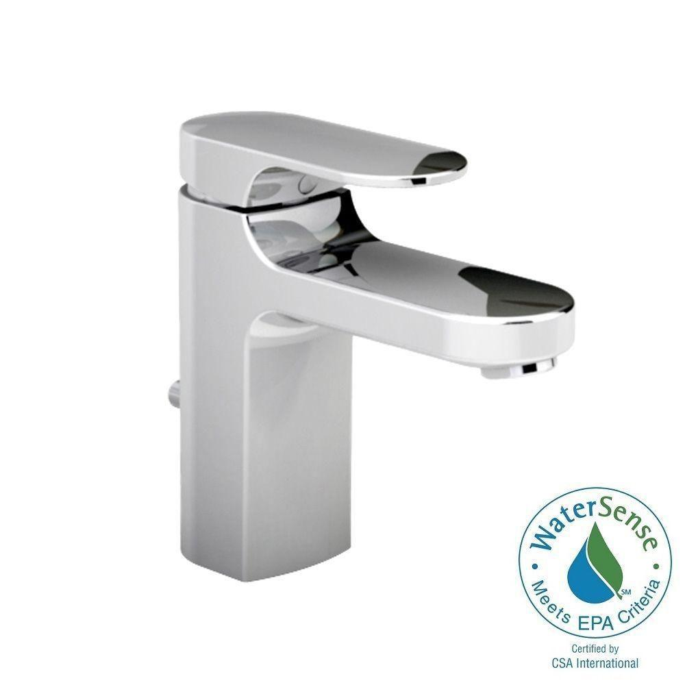 American Standard Moments Single Hole Single Handle Low-Arc Bathroom Faucet with
