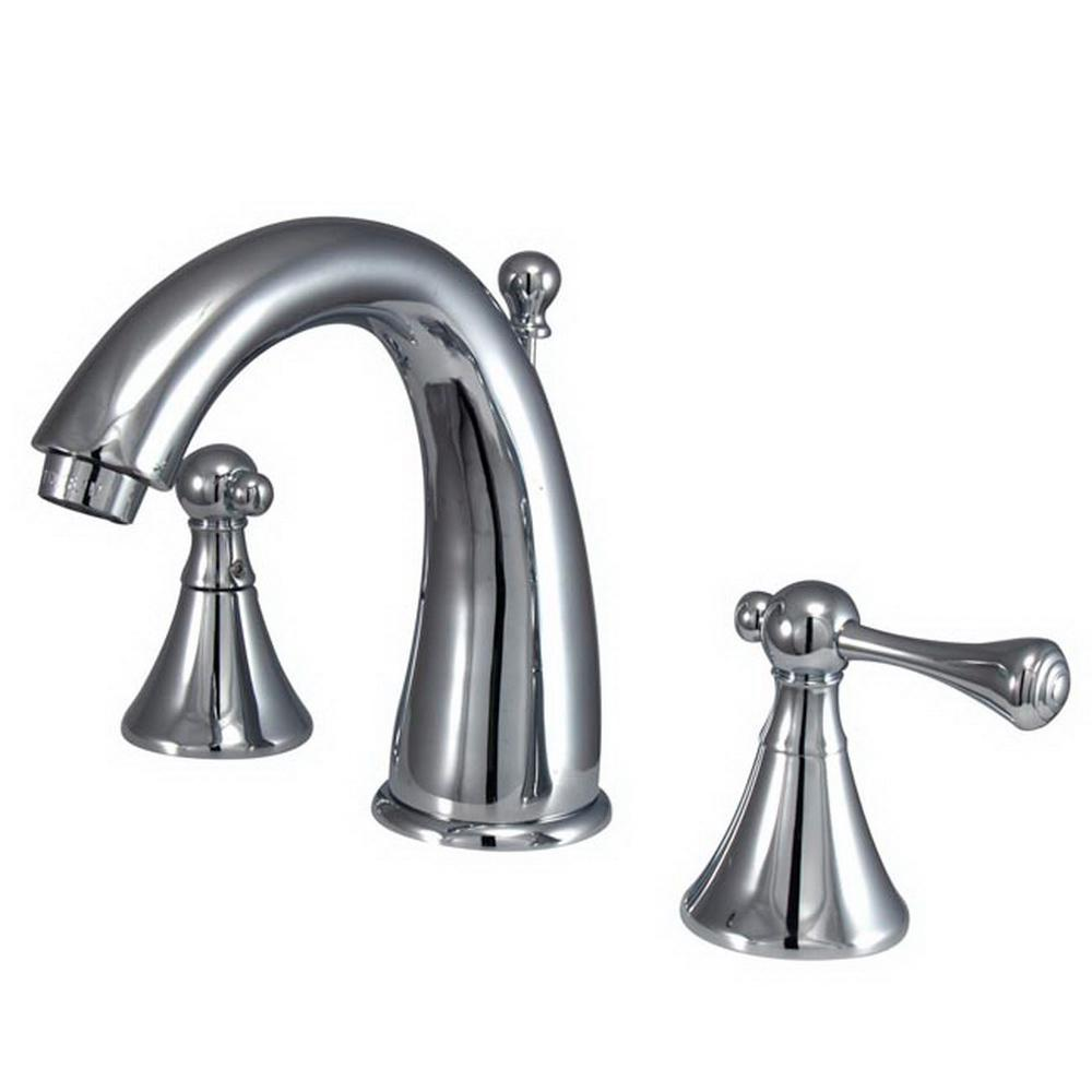 Sutton 8 in. Widespread 2-Handle Bathroom Faucet in Chrome