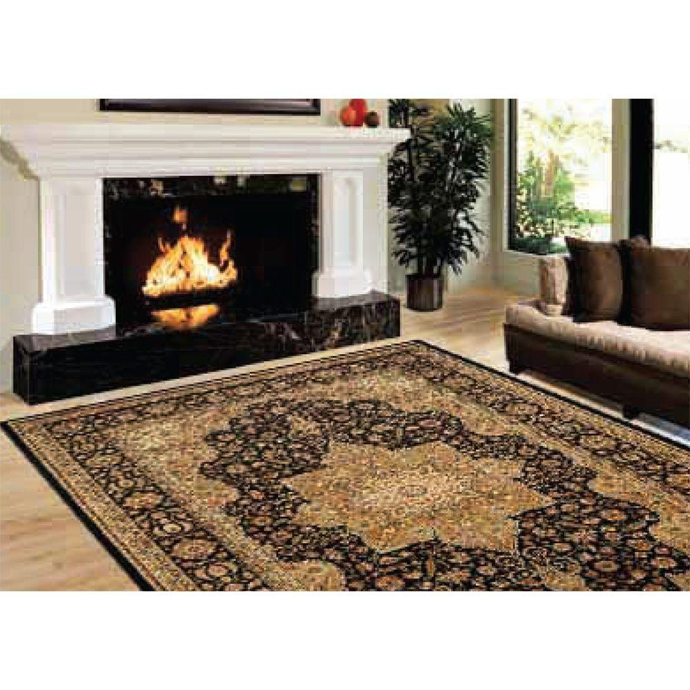 Home Dynamix Majestic Black 5 ft. 2 in. x 7 ft.