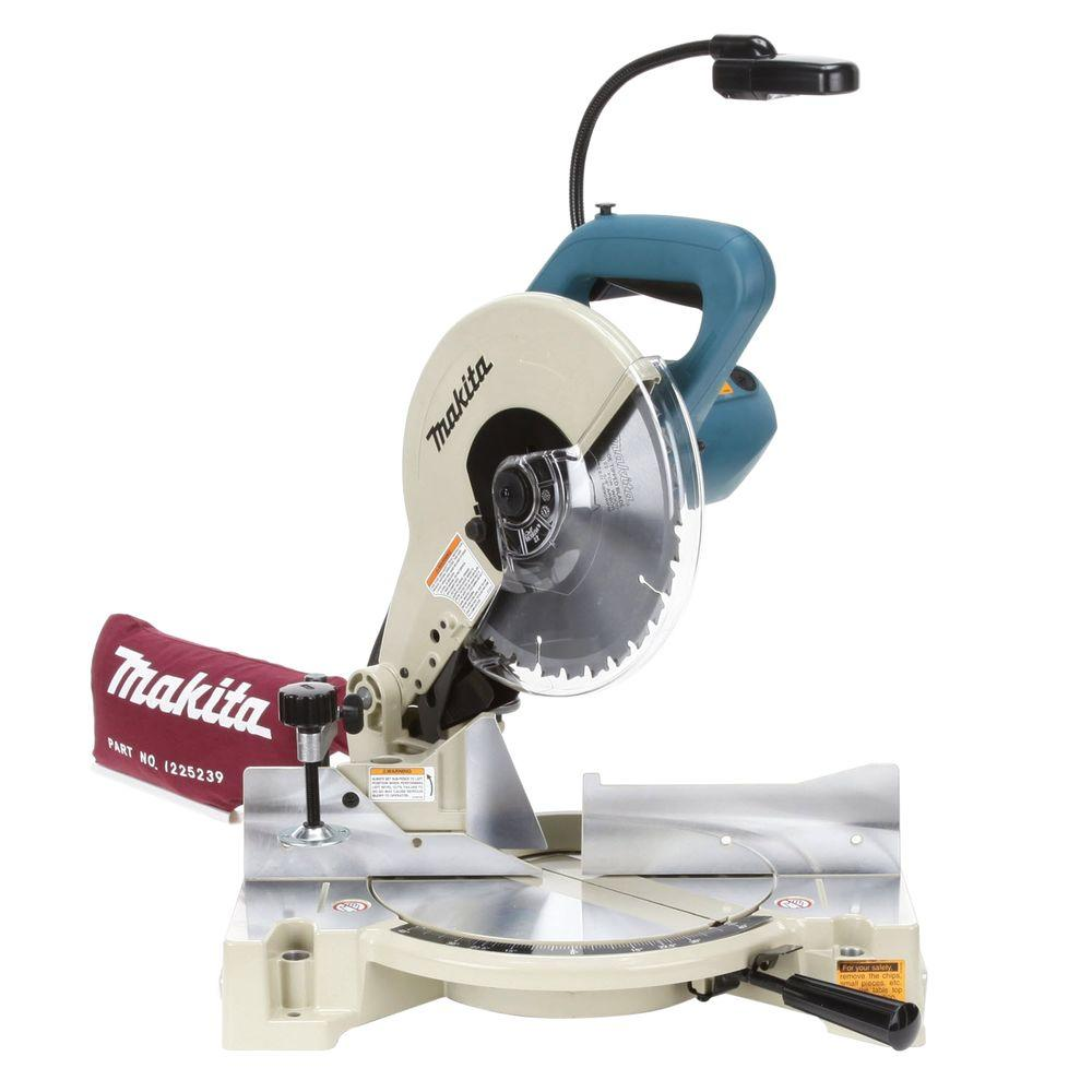 Makita 15-Amp 10 in. Compound Miter Saw with Light