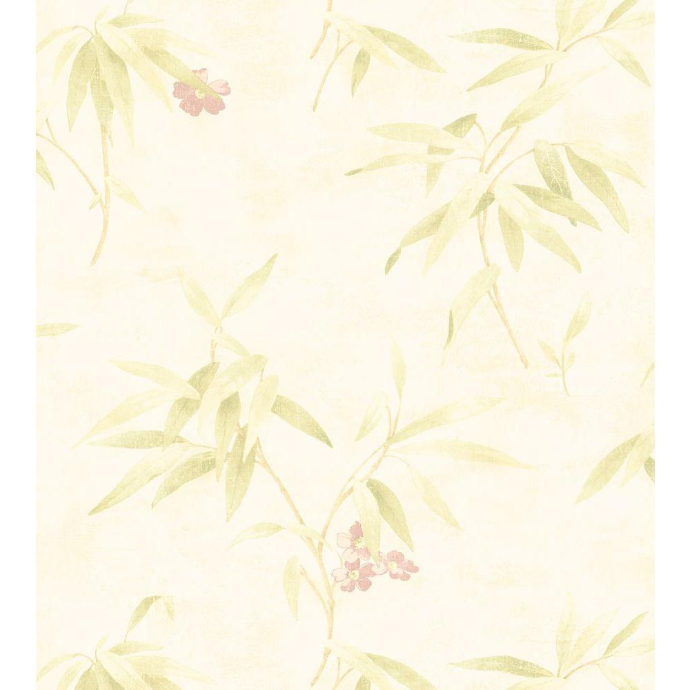 Brewster 8 in. W x 10 in. H Poppy Floral Wallpaper