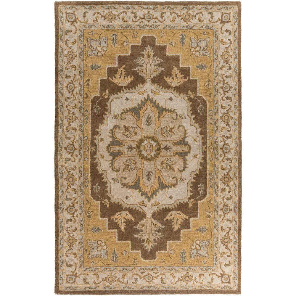 Middleton Mia Rust 4 ft. x 6 ft. Indoor Area Rug